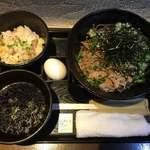 禅 - 冷たい肉蕎麦