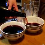 集来軒 - どんぶりワインにチェンジ