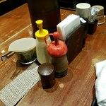 さかなや大将 - テーブル