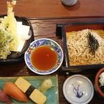あじ菜 - 料理写真:天ざるランチ1,058円