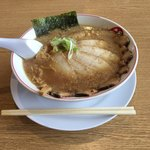 完熟ラーメン 本丸 - 黒丸チャーシュー麺
