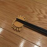 吉次蟹蔵 - 箸置きも蟹だよ!カワイイね!