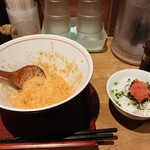 Mentokokorosebun - 明太子白湯ラーメン用明太子ご飯