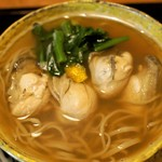 江戸蕎麦ほそ川 - かきそば   1,980円