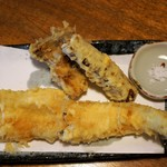 江戸蕎麦ほそ川 - 穴子天ぷら  1,600円