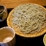 江戸蕎麦ほそ川 - せいろ  1,080円