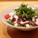 笹吟 - たこと長芋のクレソンサラダ