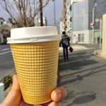 フカダソウカフェ - カフェラテ:500円