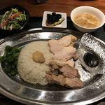GoGoパクチー - 日替わりランチ850円(税込)
