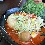 クリーミーTonkotsuラーメン 麺家神明 - REDクリーミー味噌ラーメン