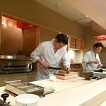 銀座 よし澤 - 大将が仕上げる日本料理 ライブ感もいいですね