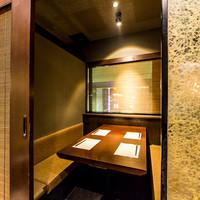 プライベート個室…接待やお食事会、デートや女子会に!