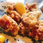 香林 - 鶏肉の唐揚げ800円