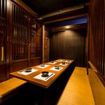 地鶏専門個室居酒屋 鳥彩 - 内観写真: