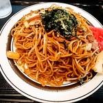 駅ナカ食堂 なの花 - 学生焼きそば470円