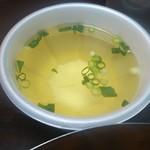 キムチの山田商店 - スープ付き♪