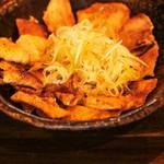 九州豚骨 ちゃんぽん 頃場 - 鳥皮ポン酢