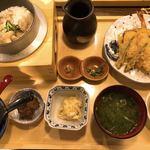 龍神丸 - 高知県産鯛釜めしと天ぷらセット定食