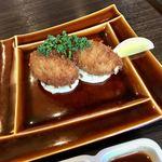 きなり食堂 - カニクリームコロッケ単品 900円
