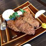 きなり食堂 - カキフライ定食のカキフライ