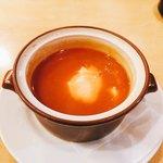 ビフテキ家あづま - トマトポタージュスープ+300円