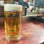 みたかや酒場 - 生ビール  500円