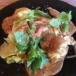 asiana茶廊 - 料理写真:麦風鶏胸肉のハーブソテー 2種のマスタードブラウンソース
