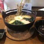 増田うどん - 鍋焼きうどん全景