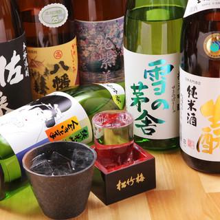 焼酎・日本酒、豊富に取り揃えております!