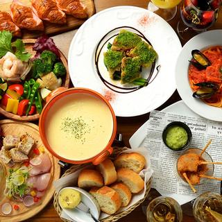 毎月かわる季節の食材を使ったニコのコースメニュー3500円〜