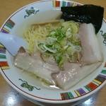 赤穂らーめん麺坊 - 赤穂塩ラーメン