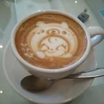 LatteArt-Bar Z.E.R.O - カフェラテ(エッチング)