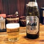 たつ屋 - 瓶ビール