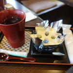 一乗寺中谷 - 料理写真:☆【一乗寺中谷】さん…絹ごし緑茶てぃらみす(≧▽≦)/~♡☆