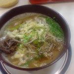 和田屋ラーメン - before(辛味味噌なし)