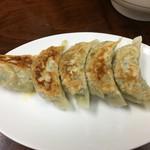 丸福中華そば - 餃子