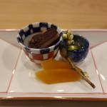 和食 いし津 - ☆唐墨&煮蛸(●^o^●)☆