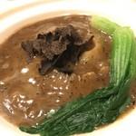 礼華 - フカヒレの土鍋入り姿煮込み(トリュフソース)