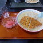 食堂ニューミサ - 味噌カツラーメン