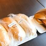 瀬戸内製パン - コッペ4点