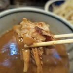 荒海 - ・「つけ麺(\780)」のトッピング。