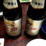 81107331 - 最初の乾杯の瓶ビール