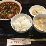 81107621 - 四川麻婆豆腐ランチ 大盛