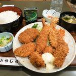 81108439 - カキ徳盛定食(大盛)1,040円