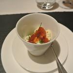 リストランテ カノフィーロ - 真ダコと菜の花、リコッタチーズ