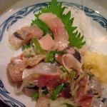 花菱 - 鯵のたたきCloseUp