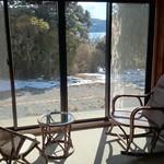 龍宮殿本館 - 貸切個室広縁からの眺め