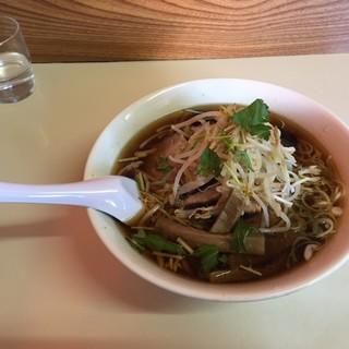 しら鳥 - 料理写真:チャーシュー麺