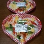 魚宗フーズ - 料理写真:サラダ海老散らし