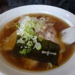 あさひや - チャーシュー麺(醤油)680円